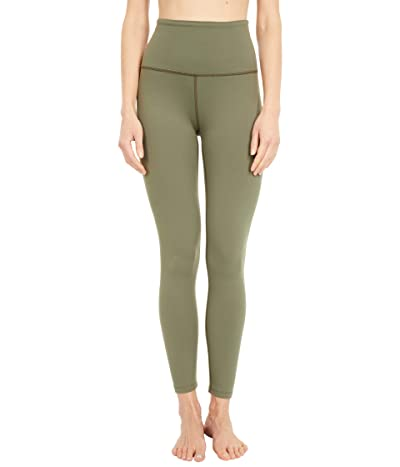 Beyond Yoga Supplex High Waisted Midi Leggings (Aviator Green) Women
