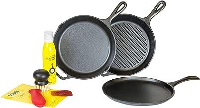 Lodge Cast Iron 7 Piece Gourmet Set