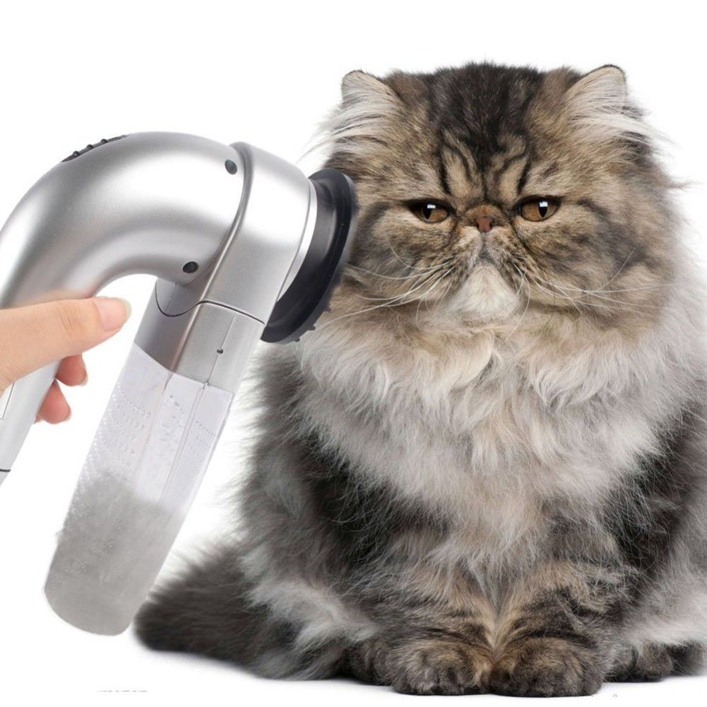 UxradG Quitapelo eléctrico para mascotas, aspiradora, perro, gato ...