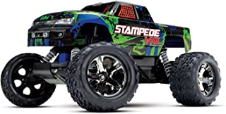 Traxxas 36076-4 Stampede VXL 2WD Brushless Monster Truck, Green