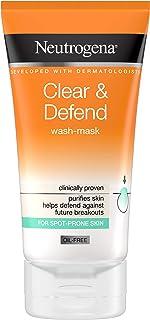 Neutrogena Clear & Defend Wasmasker, 150 ml