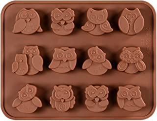 FantasyDay Halloween Night Owl Silicone Baking Molds Bakeware for Halloween Theme Chocolate, Muffin Cups, Ice Cube, Soap, Wafer, Cake, Bread, Tart, Pie, Flan, Pudding, Candy, Jello Shot and More #5