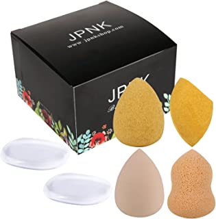 JPNK Colorful Teardrop Shape Latex Free Makeup Blender Sponges 5PCS