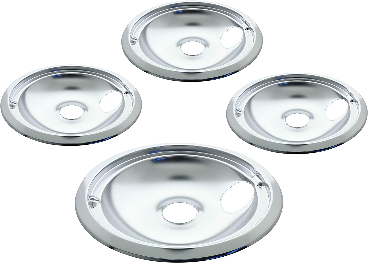 Kitchen Basics Today's only 101 Challenge the lowest price of Japan 119204XZ Style B Chrome S 3 4 Drip Bowls Pack