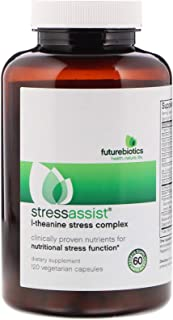 FutureBiotics StressAssist, L-Theanine Stress Complex, 120 Vegetarian Capsules
