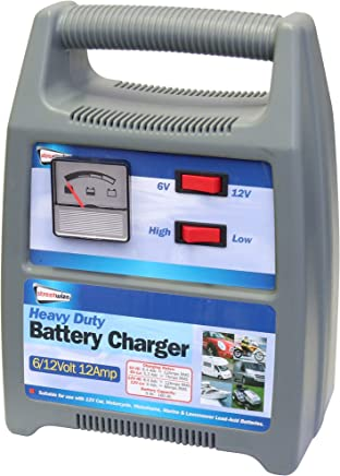Streetwize SWBCG12 6 12v Amp Automatic Plastic Cased Battery Charger