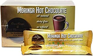 COCORINGA Moringa Hot Chocolate Cacao First Natural Keto Instant Non-dairy Hot Cocoa( 1 Box large)