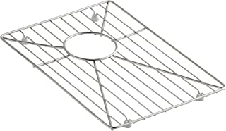 Kohler K-6647-ST Vault Bottom Basin Rack for Vault K-3823 and Vault K-3839 Kitchen Sinks, Stainless Steel