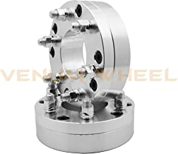 2pc 5x5 to 6x135 5 Lug To 6 Lug Wheel Spacers Adapters Conversion Bolt On 2