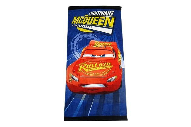 Disney Pixar Cars Lightning McQueen Clubhouse Fiber Reactive Beach Towel Turbo