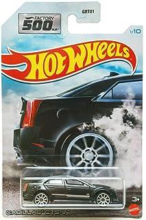 DieCast Hotwheels Cadi CTS-V (Black) 1/10 - Factory 500