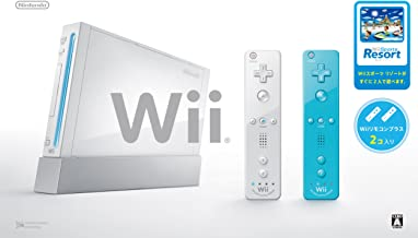 $383 » Wii Console (White) , Two Wii Remote Plus , with Wii Sports Resort [Japan Import]