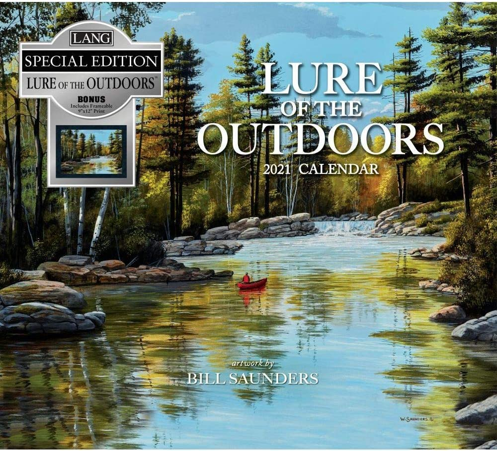 The Lang Companies Lure of Special Ca Outdoors In a popularity Edition Wholesale Wall