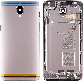 Swark 交換用バッテリー ドアバックカバー OnePlus 3/3T A3010 OnePlus Three 3 A3000 A3003 メタルバックカバー + SIMカードトレイ カメラガラスレンズ修復 壊れた携帯電話用