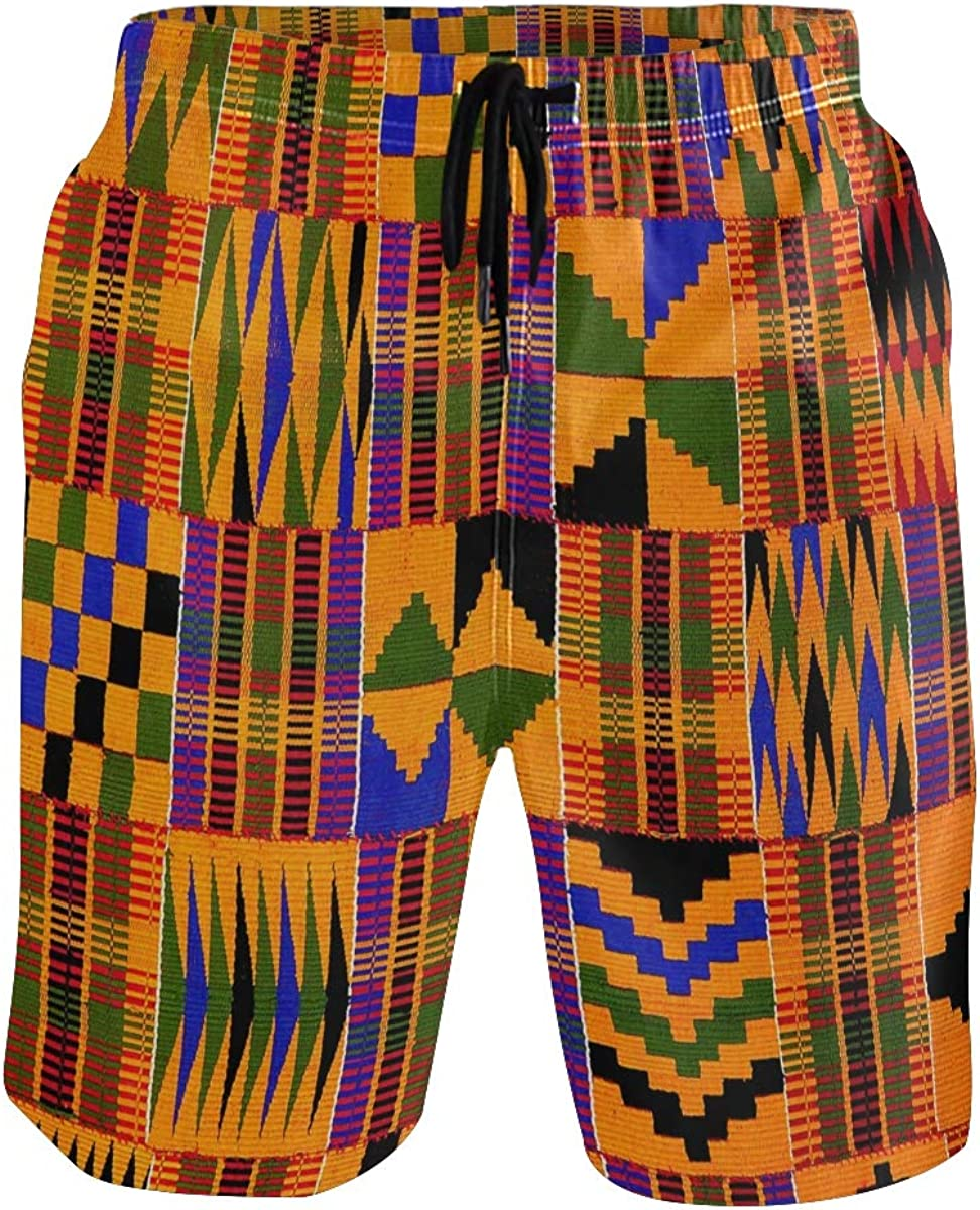 XUWU Men's Quick Dry Swim Trunks with Pockets Flag of Bavaria Beach Board Shorts Bathing Suits