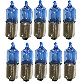 H6W Xenon Look l/ámpara hal/ógena bombilla bombilla de repuesto luces de posici/ón H6W BAX9s 6W 12V