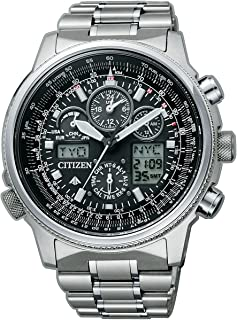 JY8020-52E - Reloj de Cuarzo para Hombre, Correa de Titanio