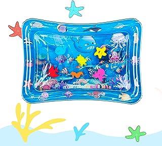 Tummy Time Baby Water Mat مرکز فعالیت های بازی بادی کودک به مدت 3 6 9 ماه