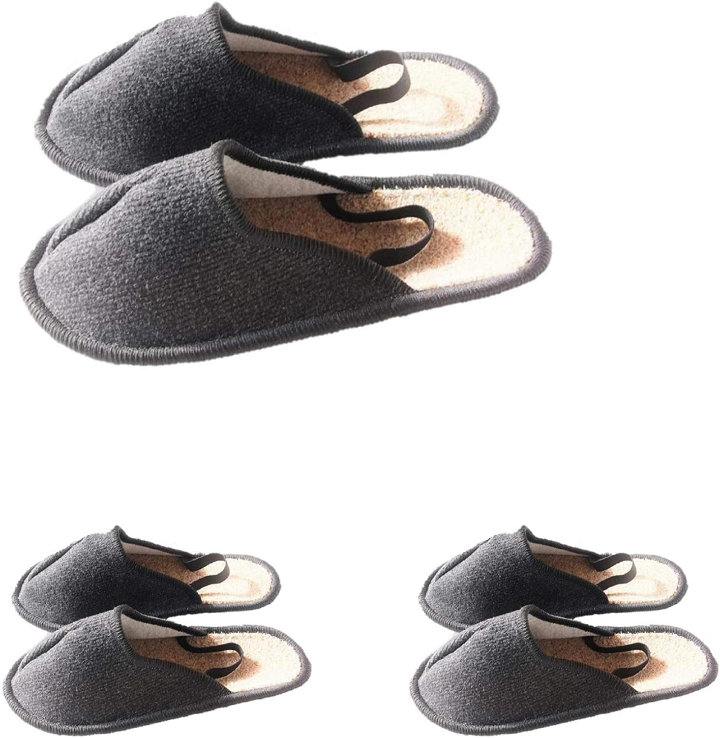 Professional Museum Slippers with Elastic Heel shoes Overshoes, 3 Pairs