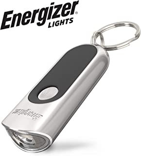 LED Keychain Flashlight By Energizer - Bright, Durable Metal Body, Drop-Resistant, Ultra Compact Keychain Light, Batteries Included