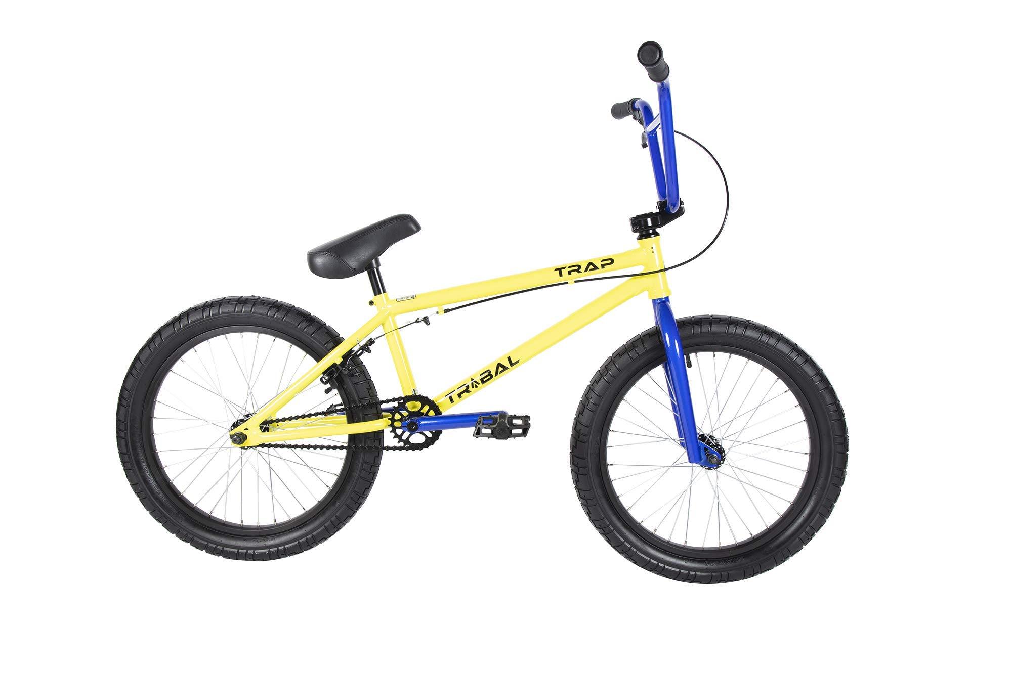 Tribal Trap BMX - Bicicleta, Color Amarillo: Amazon.es: Deportes y aire libre
