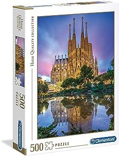 Clementoni Adult Puzzle Amazing View Of Barcelona, Multi-Colour, 500 Pieces