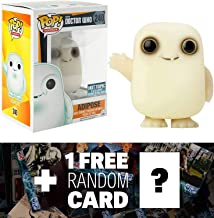 Doctor Who Adipose - Glow-in-Dark (Hot Topic Exclusive): Funko POP! x Vinyl Figure + 1 Free Official Dr Who Trading Card Bundle (057848)