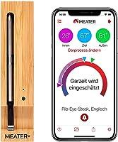 MEATER+   Neu: Das kabellose, smarte Fleischthermometer mit 50m Reichweite   Für Ofen, Grill, Pfanne und Rotisserie  ...