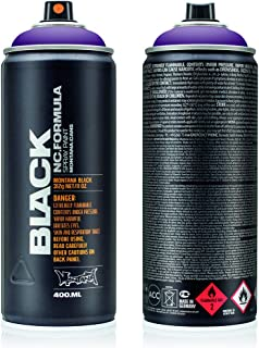 Montana Cans MXB-4060 Montana Black 400ml Color, Galaxy Spray Paint,