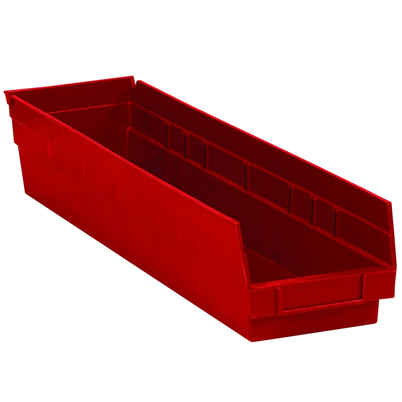 Max 42% OFF Partners Brand PBINPS121R Plastic Shelf Bins Translated 23 5 x 8