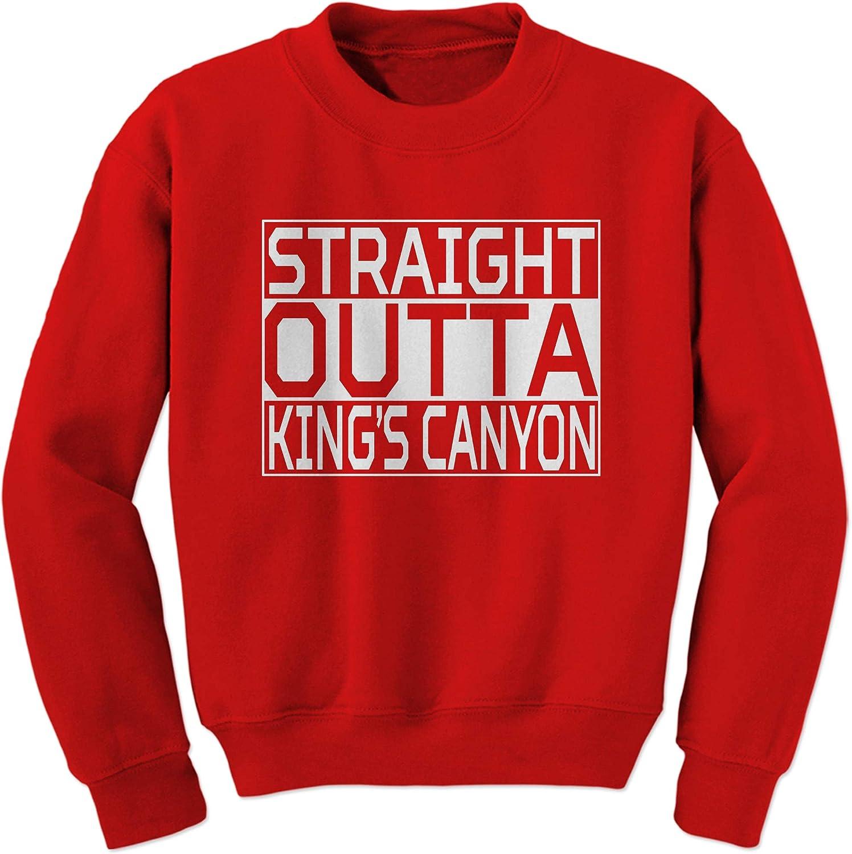 Adult Straight Outta Kings Canyon Sweatshirt Crewneck