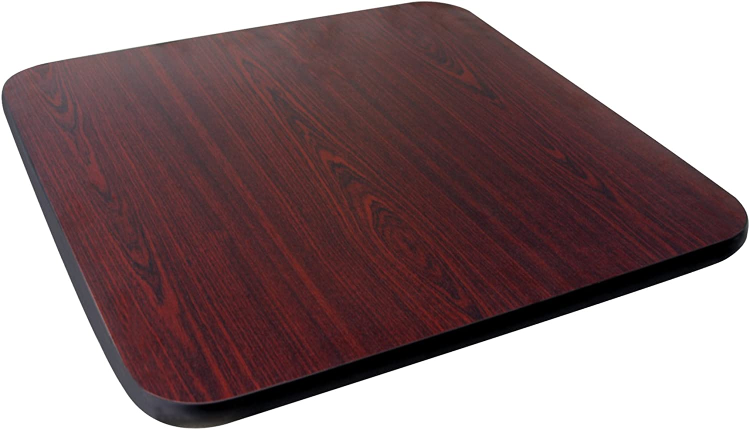 Johnson pink 91223 Table Top, Reversible (Mahogany Black), 24  x 36 , 1  Thick