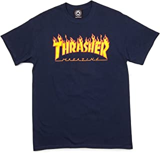 Flame T-Shirt - Navy
