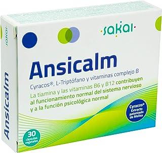 Sakai –Ansicalm- Reduce los nervios. el ánimo bajo y la ansiedad– Duerme mejor y