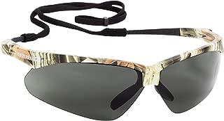 KLEENGUARD V30 Nemesis Polarized Safety Glasses (47417), Polarized Smoke Lenses (Safety Sunglasses), Camo Frame