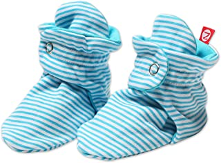 Unisex Cotton Baby Booties Solid and Candy Striped For Boys and Girls