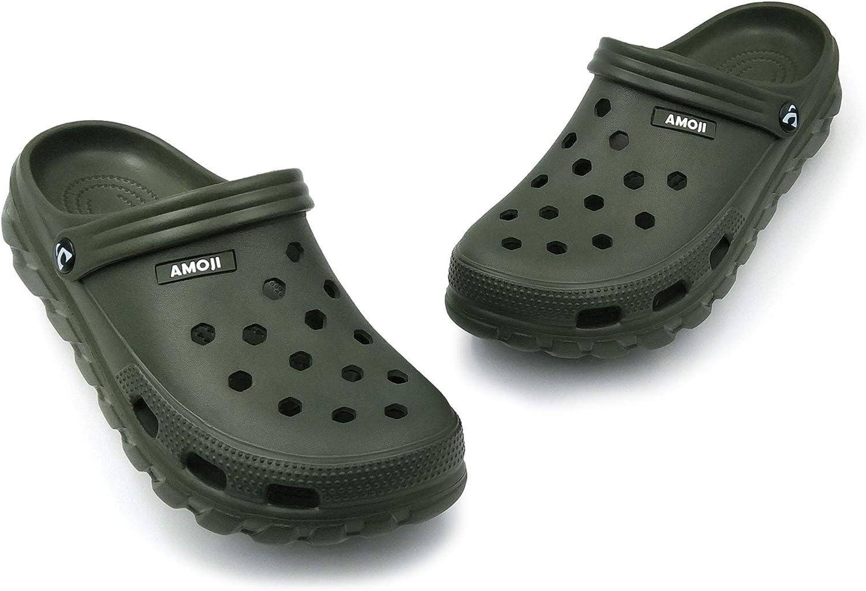 Amoji Uni Garden Clogs Shoes Sandals Slippers