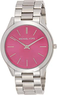 Michael Kors Runway Watch for Women - Analog Stainless Steel Band - MK3291