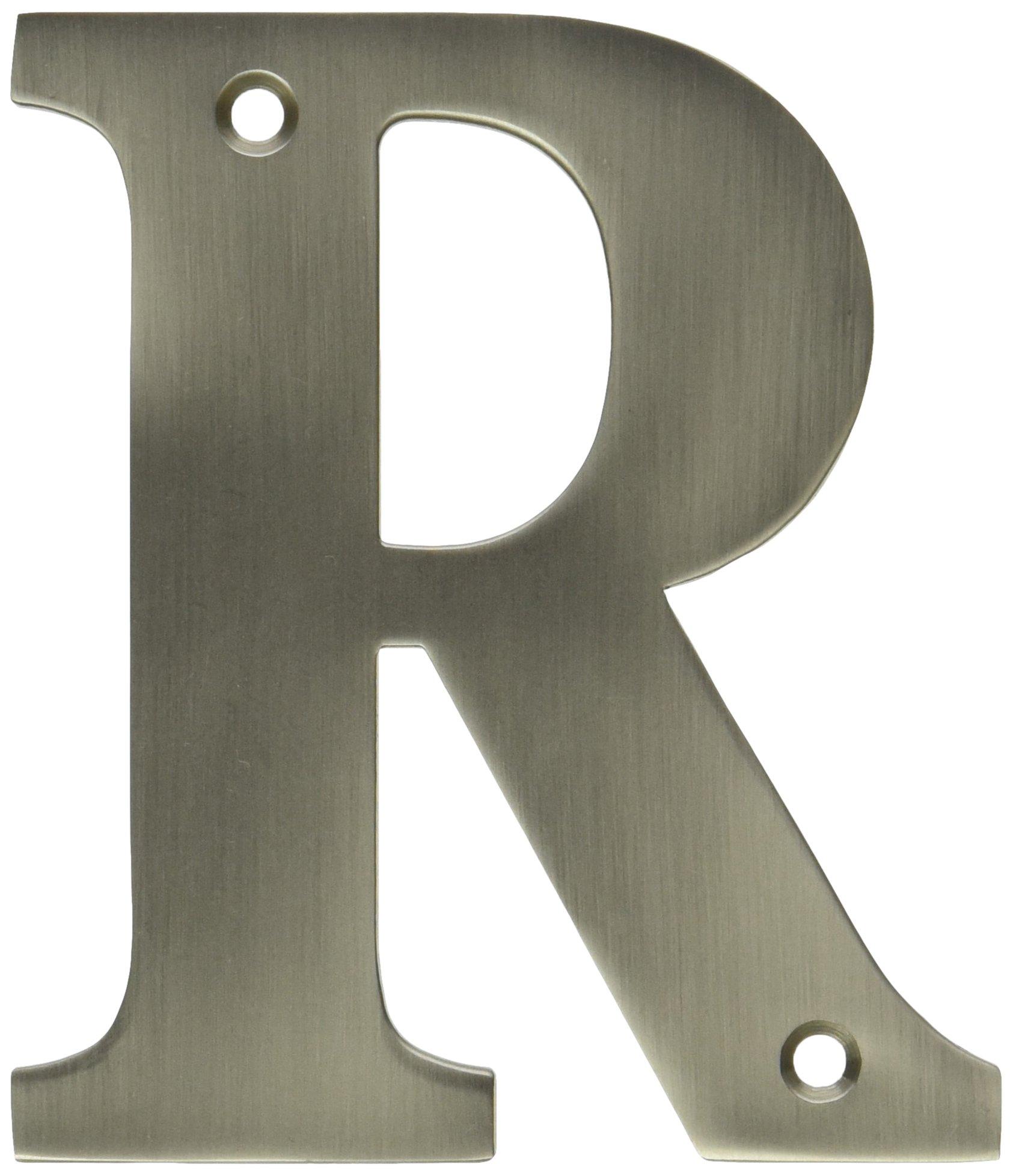 Deltana RL4R-15 4 英寸住宅字母 R 房板
