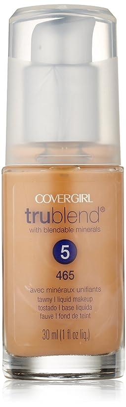 警報地域密度CoverGirl Trublend Liquid Make Up Tawny 465