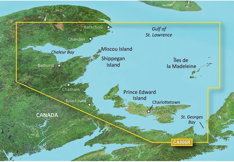 Garmin blueeeChart174; g2 Vision174;  VCA006R  P.E.I. to Chaleur Bay  SD Card