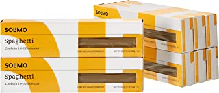 Amazon Brand - Solimo Pasta, Spaghetti, 16oz (Pack of 8)