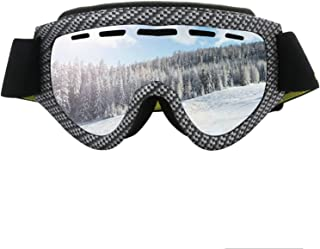 Aooaz Cylindrical Ski Glasses Outdoor Skiing Goggles Anti Fog Double Layer Anti Wind Goggles