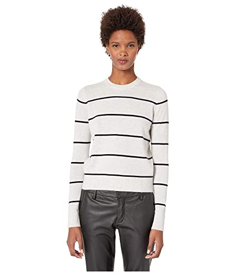 Vince Striped Overlay Crew