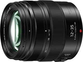 PANASONIC LUMIX Professional 12-35mm Camera Lens G X VARIO II, F2.8 ASPH, Dual I.S. 2.0 with Power O.I.S., Mirrorless Micro Four Thirds, H-HSA12035 (2017 Model, Black)