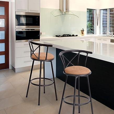 meilleures baskets 8fbc5 795d6 Amazon.fr : chaise haute pour bar - Métal / Meubles ...