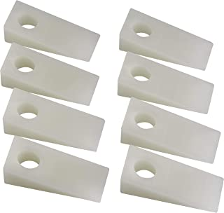 Katzco Plastic Lockout Wedge Kit – 8 Pieces Ultra Thin Door Jam Tool - Ideal for Car Repair Accessories, Unlocking Instrument, Handy Equipment, Prop Open Automobile Windows and Doors