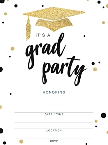 2021 Invitations for discount Graduation Party lowest - 20 Cards with Envelopes outlet online sale
