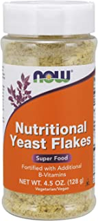 Now Foods Nutritional Yeast Flakes, 4.5 Ounce