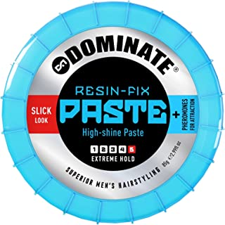 Dominate Hair Resin, Hard Set With Pheromones, Salon Series, Extreme Hair Hold With A High-Shine Wet Look, 85g